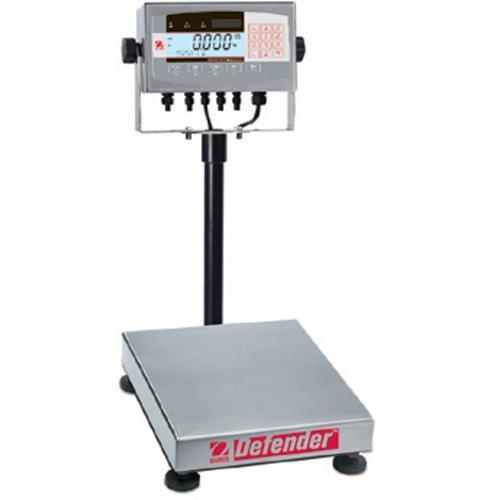 Ohaus D71XW10QR1 Defender 7000X Square Scales (25 lb x 0.002 lb) 12 x 12 x 3.8 in Platform Size