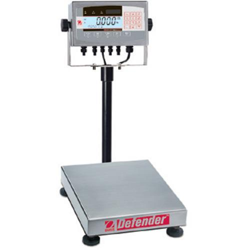 Ohaus D71XW25QR1 Defender 7000X Square Scales (50 lb x 0.005 lb) 12 x 12 x 3.8 in Platform Size
