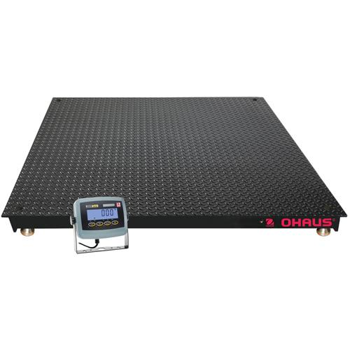 Ohaus VN31P5000L Legal For Trade 4 x 4 Floor Scale, 2500 kg x 0.5 kg