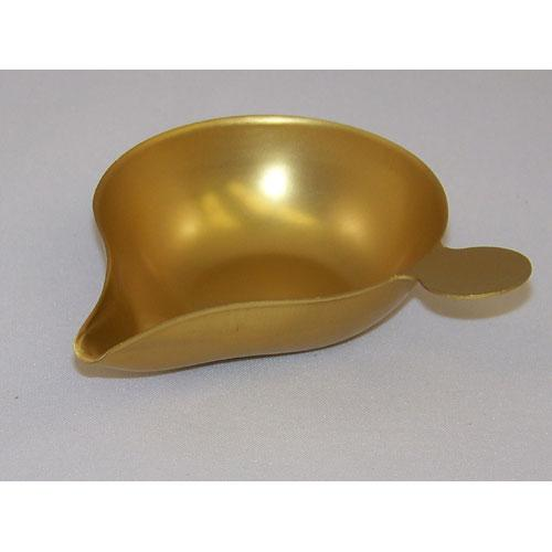 Ohaus 30020842 Gold Scoop, 2.25 in x 3 in (5.7 cm x7.6 cm), weight 10 g (5077-00)