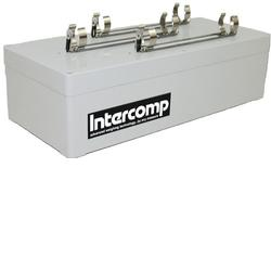 Intercomp Part 100857 Charger, External, 120/220 V, for qty. 3X3 D-Size NiCad/NiMH
