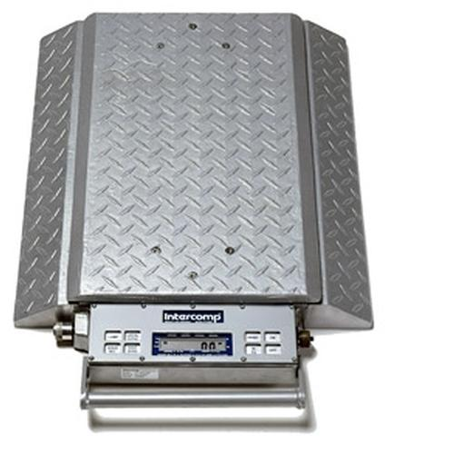 Intercomp PT300DW 100095-RF (Double Wide) Wheel Load Scales with 900 MHz Wireless, 20000 x 50 lb