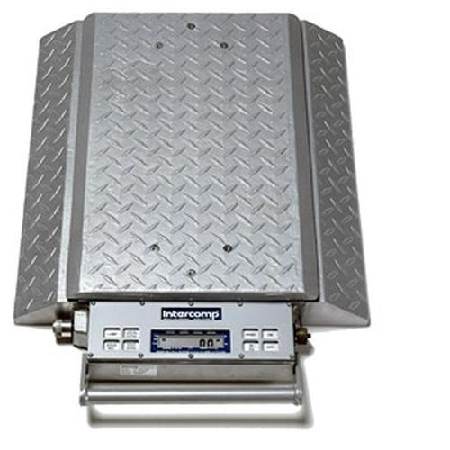 Intercomp PT300DW 100078-RF (Double Wide) Wheel Load Scales with 900 MHz Wireless, 30000 x 50 lb