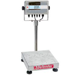 Ohaus D51XW10WR3 Defender 5000XW Extreme Square Washdown Scales, 25lb x 0.002lb