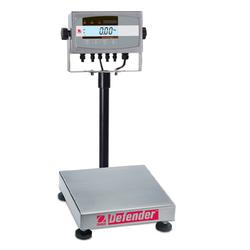 Ohaus D51XW10QR1 Defender™ 5000X Extreme Square Scales NTEP, 25 lb x 0.002 lb