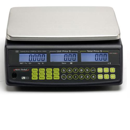 Avery Berkel FX50 Retail Price Computing Scale, 30lb x 0.01lb