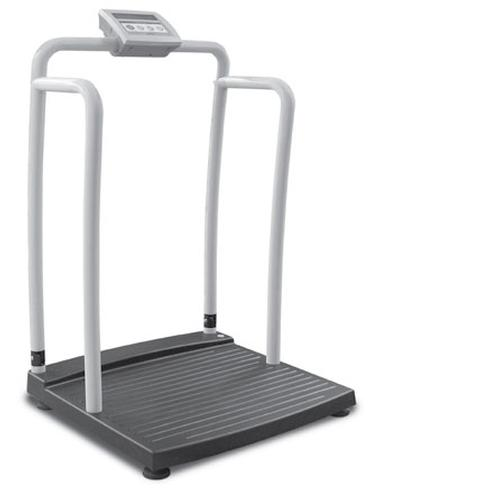 Rice Lake 240-10 Bariatric/Handrail Physician Scale, 700lb x 0.2 lb