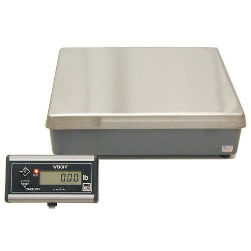 NCI 7820R Series 9503-17229 Remote Display Shipping Scale Legal for trade 150 lb x 0.05 lb