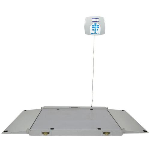 Health O Meter 2700KL Portable Digital Wheelchair Scale, 800 x 0.2 lb