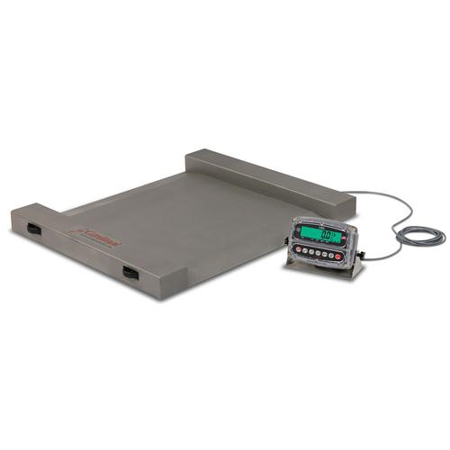 Detecto RW-500 Run-a-Weigh Portable Floor Scales,500 lb x 0.2 lb