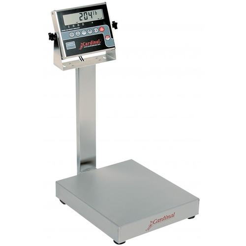 Detecto EB-30-204 EB-204 Series Stainless Steel Bench Scales,30 lb x .01 lb