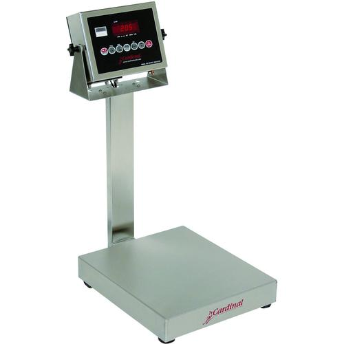 Detecto EB-300-205 EB-205 Series Stainless Steel Bench Scales,300 lb x .1 lb