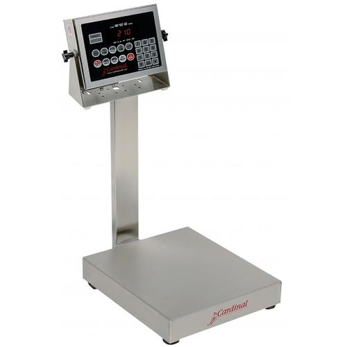 Detecto EB-30-210 EB-210 Series Stainless Steel Bench Scales,30 lb x .01 lb