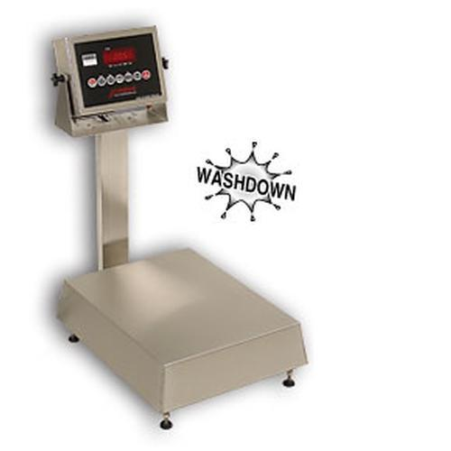 Detecto NB-1418-60-205  Waterproof Stainless Steel Bench Scales,60 lb x .02 lb
