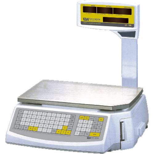 EasyWeigh LS-100 Price Computing Scale w/Printer 30-60 x 0.01-0.02 lb dual range