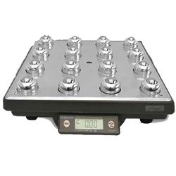 Fairbanks 30102 Ultegra Ball Top UPS Bench Scale (USB only)  150 lb x 0.05 lb
