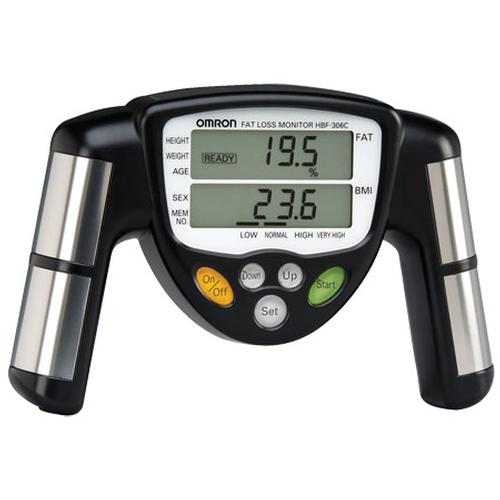 Omron HBF-306 BodyLogic Pro Hand Held Body Fat Monitor