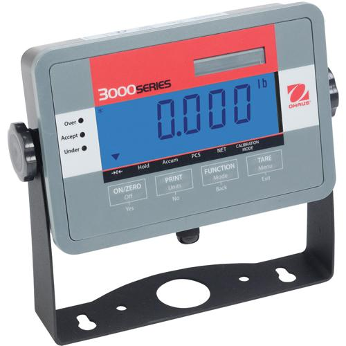 Ohaus T32MC Economy Indicator with LCD Display 3000 Series