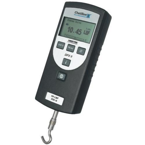 Chatillon DFX2-100-NIST Digital Force Gauge With Certificate of Calibration -  100 x 0.1 lbf