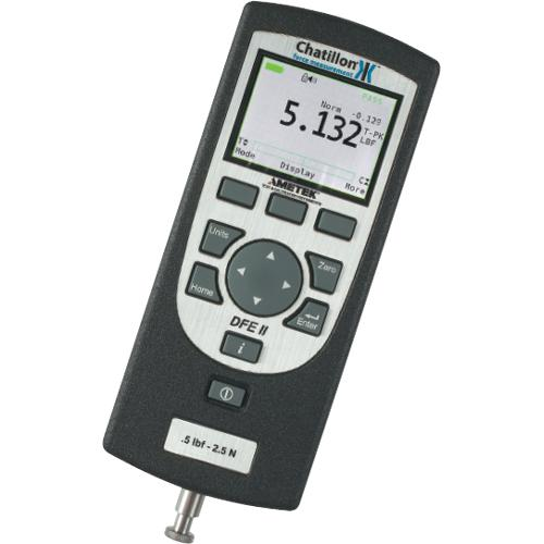 Chatillon DFE2-025 Digital Force Gauge - 25 x 0.01 lbf