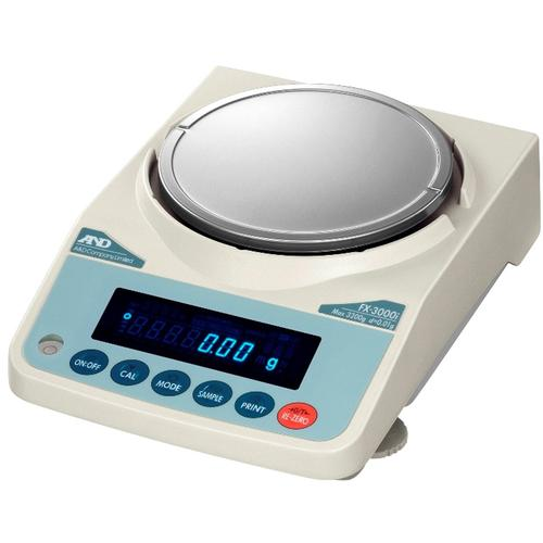 AND Weighing FX-3000iN Legal For Trade Class II Precision Balance,3200 x 0.01 g