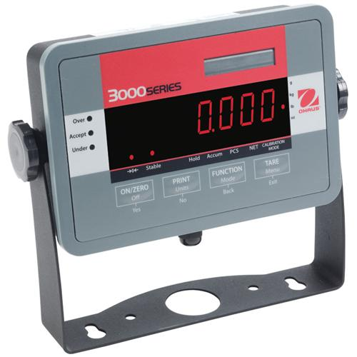 Ohaus T32ME Indicator with LED Display 3000 Series