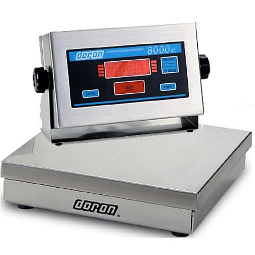 Doran 8010XL/88 Legal For Trade  Bench Scale  10 x 0.002 lb
