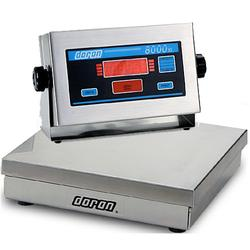 Doran 8050XL Legal For Trade  Bench Scale  50 x 0.01 lb