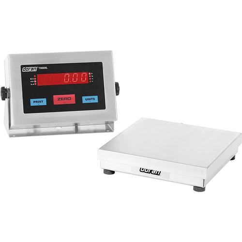 Doran 7005XL/88 Legal For Trade  Bench Scale with 8 x 8 inch base  5 x 0.001 lb