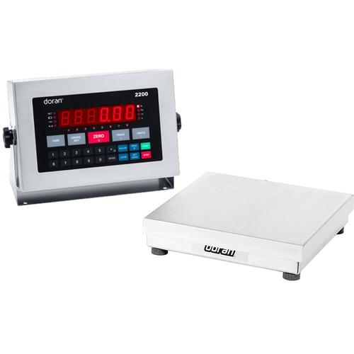 Doran 22050 Legal For Trade Washdown Bench Scale  50 x 0.01 lb