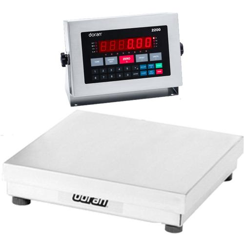 Doran 22100/15 Legal For Trade Washdown Bench Scale 100 x 0.02 lb