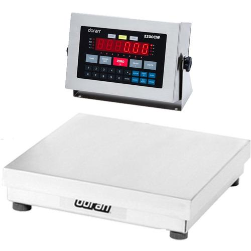 Doran 22100CW/15 Legal For Trade Checkweighing Scale 100 x 0.02 lb