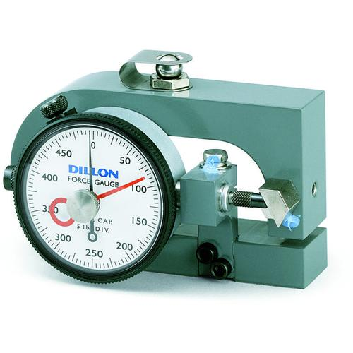 Dillon 30423-0055 X-C Compression Force Gauge with Maximum Hand, 10000 x 100 lb