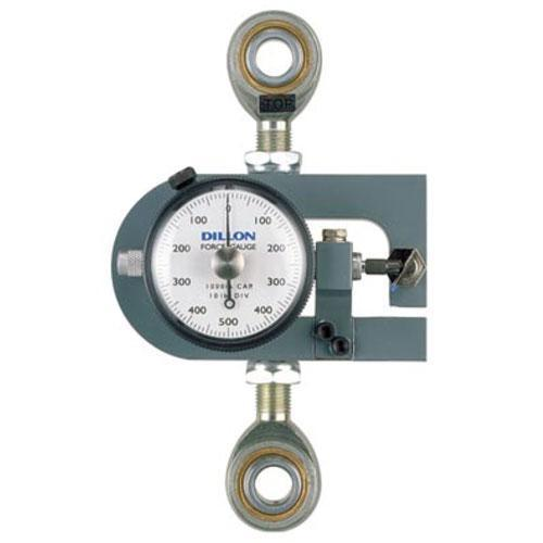 Dillon 30443-0176 X-ST Tension Force Gauge with Maximum Hand, 25 x 0.25 kg
