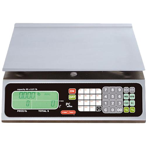 TorRey PC-40L Legal for Trade Price Computing Scale 40 x 0.01 lb