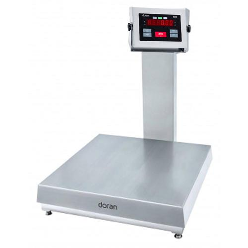 Doran APS43100/18S Legal for Trade 18 X 18 Checkweighing Scale 100 x 0.02 lb