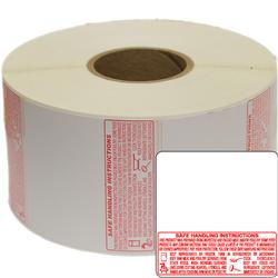 Torrey TR-8040 58 x 60mm UPC + Safe Handling Thermal labels 1 Roll (1000 Lables)