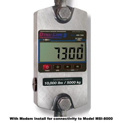 MSI 503381-0001 MSI-7300 Dyna-Link 2  Dynamometer with wireless connectivity 1000 x 0.5 lb