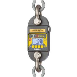 Dillon EDXtreme RED Dynamometers with two Shackles, Backlight and Radio
