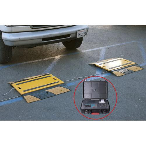 Prime Scales PS-40KWP2 - Weigh Pads / Portable Truck Scales, 40000 x 5 lb