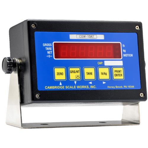 Cambridge CSW-10AT LED Digital Weight Indicator Legal for Trade