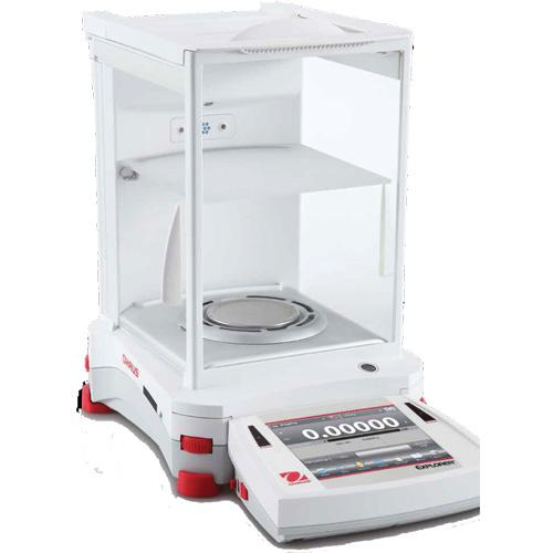 Ohaus EX225D/AD Explorer Semi-Micro Balance (30139513)  with Automatic Door - 120 g x 0.01 mg and 220 g x 0.1 mg