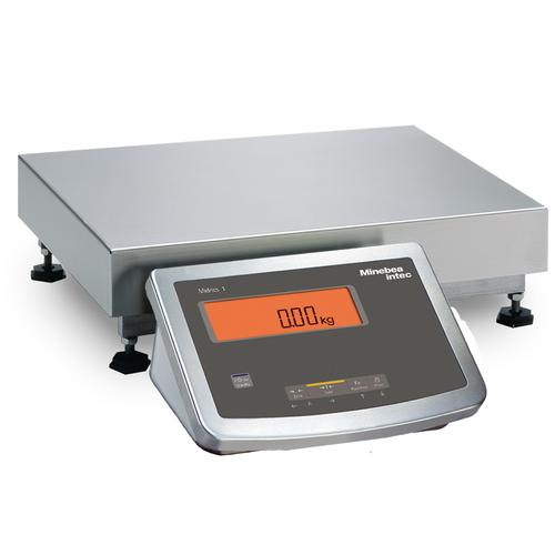Minebea  MW1P1U60EDL Midrics Industrial Scale With Galvanized/Painted frame 15.75 x 11.8, 100lb x 0.02lb
