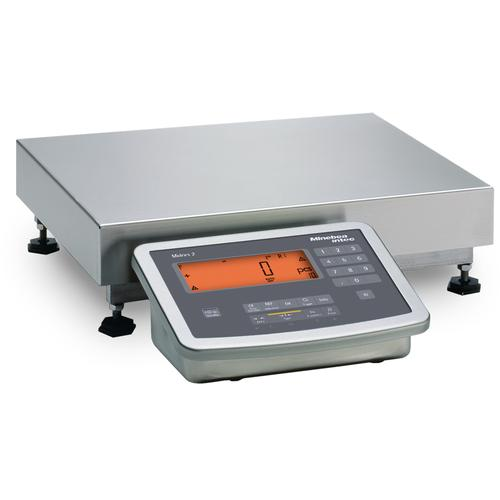Minebea MW2S1U15DCL Midrics Complete Bench Stainless Steel Scales 12.5 x 9.5, 30 x 0.002 lb