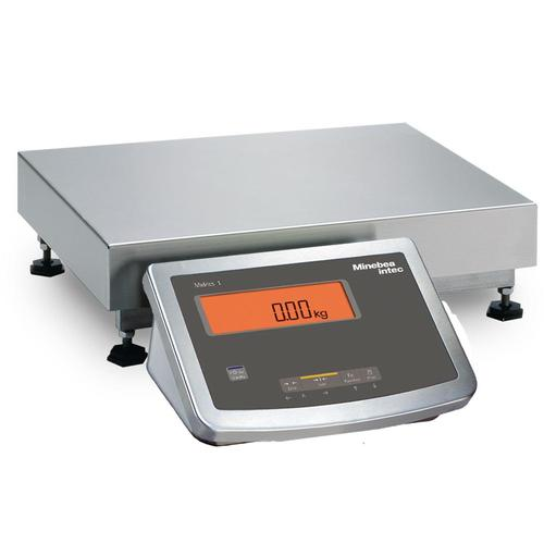 Minebea Midrics MW1S1U15DC Complete Bench Scales Stainless Steel, Non-Verifiable 12.5 x 9.5, 30 x 0.002