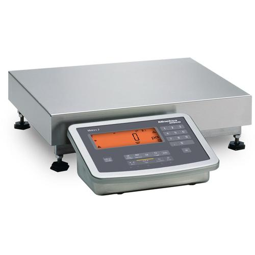 Minebea Midrics MW2S1U3DC Complete Bench Scales Stainless Steel, Non-Verifiable 12.5 x 9.5, 6 x 0.0005 lb