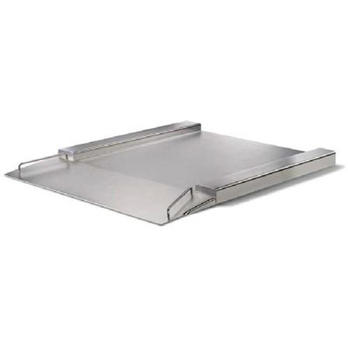 Minebea IFXS4-600NN, Stainless Steel, 49.2 x 49.2 inch, FM Approved Flatbed Scale Base, 1320 x 0.05 lb