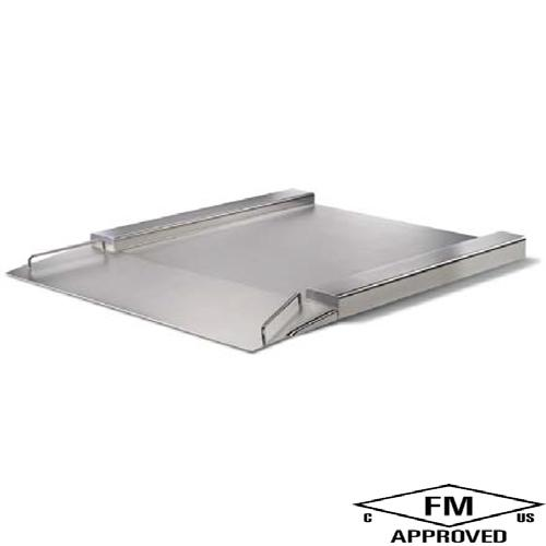 Minebea IFXS4-1500LI, Stainless Steel, 39.4 x 31.5 inch, FM Approved Flatbed Scale Base, 3300 X 0.1lb