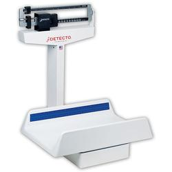 The Detecto 450 mechanical pediatric scales are constructed with a heavy duty rust resistant understructure with easy to read die-cast beam. Detecto scales set the standard in pediatrician's offices, clinics and labs worldwide for rugged construction and high precision.