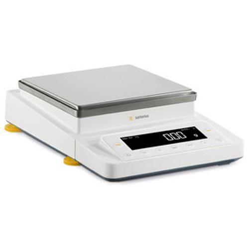 Sartorius MSE5201S-ED15 Cubis Toploading Balance with Guide-Assisted Leveling  5200 x 0.1 g